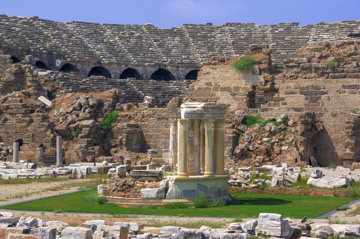Ancient sights on the Turkish Riviera