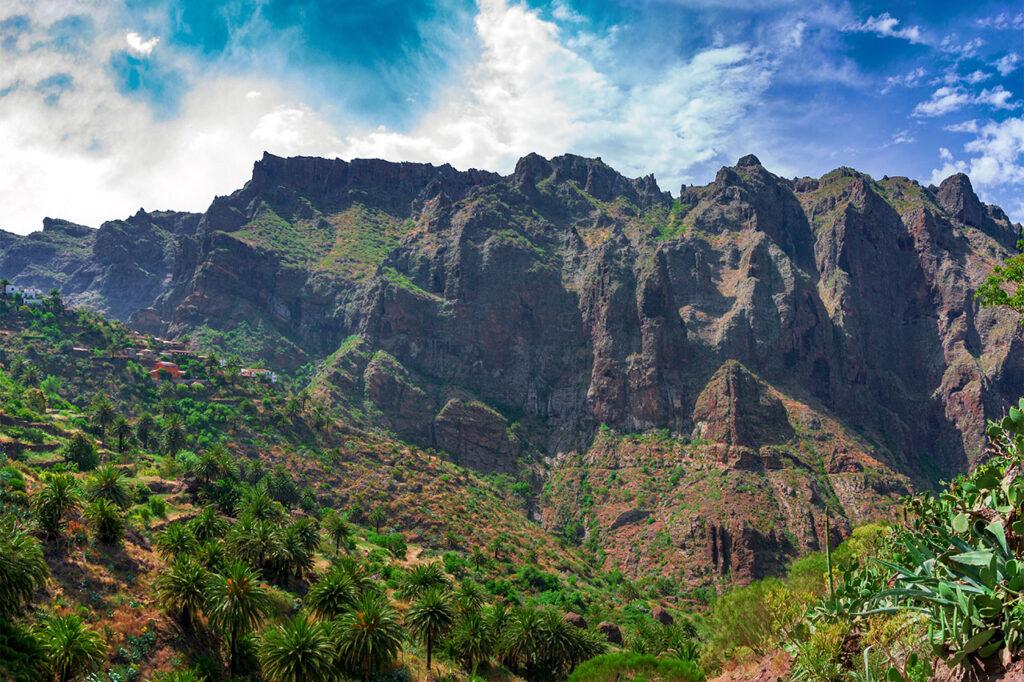 West coast of Tenerife